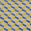 Geometrical Portuguese tile — Stock Photo