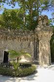 Place in gardens of Quinta da Regaleira — Stock Photo