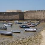 Boats at the shore — Stock Photo