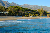 Marbella sea — Stock Photo