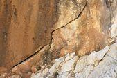 Crepa nella roccia — Foto Stock
