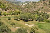 Valley golf — Stock Photo