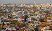 Roofs of Seville — Stock Photo
