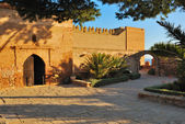 Square Alcazaba — Stock Photo