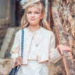 Little Girl Fashion — Stock Photo