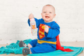 Super baby — Stock Photo