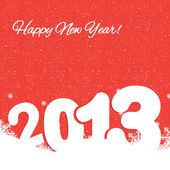 New year 2013 background — Stock Vector