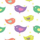 Baby birds — Stock Vector