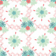 Seamless floral wallpaper background — Stock Vector