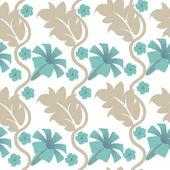 无缝的花卉背景 — 图库矢量图片