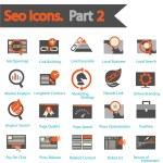 SEO icons set part 2 — Stock Vector