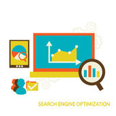 Search Engine Optimization — Stock Vector