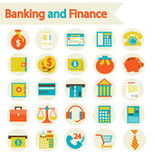 Banking and Finance — Stock Vector