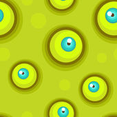 Seamless pattern with eyes. — Stock Vector