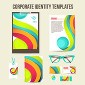 Corporate identity templates — Stock Vector