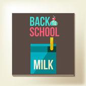 Back to school design template — Vecteur