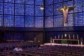 Igreja moderna futurista — Fotografia Stock