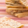 Mix of different indian breads - naan — Stock Photo #35791415