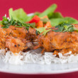 Chicken wings - Indian cuisine — Stock Photo