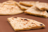 Indian bread - naan — Stockfoto