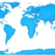 World map — Stock Photo #14679309
