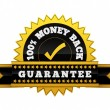 Money Back Guarantee sign — Foto de Stock