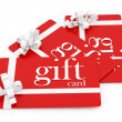 Gift cards — Stock Photo #14679437