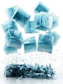 アイス キューブ — ストック写真