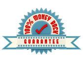 Money Back Guarantee sign — Stock Photo