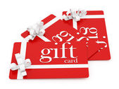Carte regalo — Foto Stock