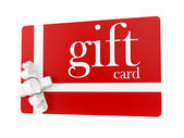 Gift card — Stock fotografie