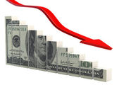 Crise financeira — Fotografia Stock