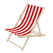 Deck chair — Stockfoto