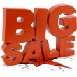 Big Sale crushing ground — Stock Photo