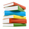 Colorful leather cover books — Stock Photo #33037793
