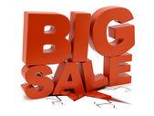 Big Sale crushing ground — Stock Photo