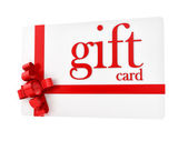 Gift card — Stock Photo