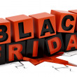 Black Friday — Stock Photo
