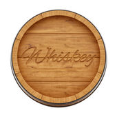 Whiskey barrel — Stock Photo