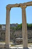 La biblioteca de Adriano. Atenas — Foto de Stock