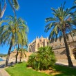 The Cathedral of Santa Maria of Palma, Majorca. La Seu — Stock Photo