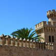 The Royal Palace of La Almudaina, Majorca — Stock Photo