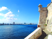 Castelo do morro, havana — Foto Stock