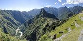 Machu Picchu tarihi sığınak. Peru — Stok fotoğraf