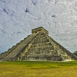 Pre-Hispanic City of Chichen Itza. Mexico — Stock Photo