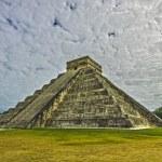Pre-Hispanic City of Chichen Itza. Mexico — Stock Photo #18174995