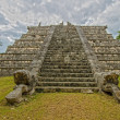 Pre-Hispanic City of Chichen Itza. Mexico - Stock Photo