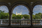 The Goverment Palace in Merida — Stock Photo