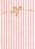 Vector sweet stripped background. White and pink. Cute wallpaper — Stock Vector