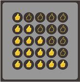 Caja de pascua de chocolate. vector fondo temático. chocolate — Vector de stock